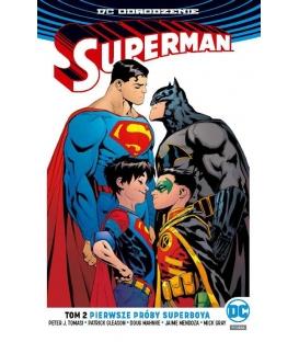 Superman - Pierwsze próby Superboya. Tom 2