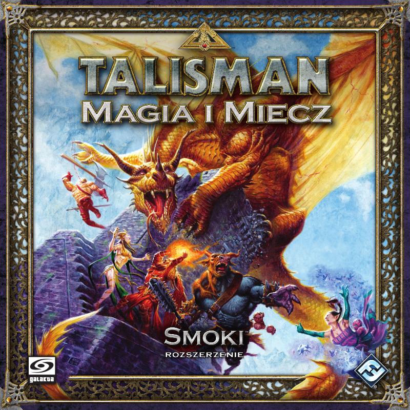 Talisman: Magia i Miecz - Smoki (druga edycja polska)