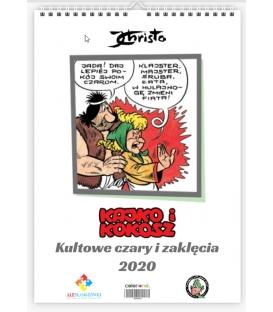 """Kalendarz Kajko i Kokosz 2020 """" Kultowe czary i zaklęcia"""""""
