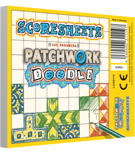 Patchwork Doodle: Notes punktacji