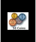 Rococo: Metalowe monety
