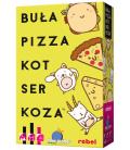 Buła, Pizza, Kot, Ser, Koza