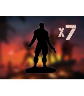 Jagged Alliance: Zestaw 7 kolekcjonerskich figurek