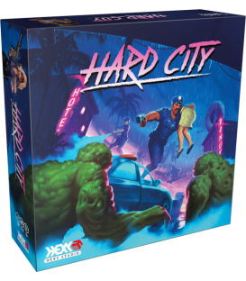 Hard City - Core Box (edycja Kickstarter - edycja angielska) + SG