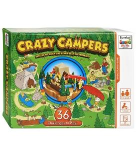 Ah!Ha - Szalony biwak / Crazy Campers - gra logiczna