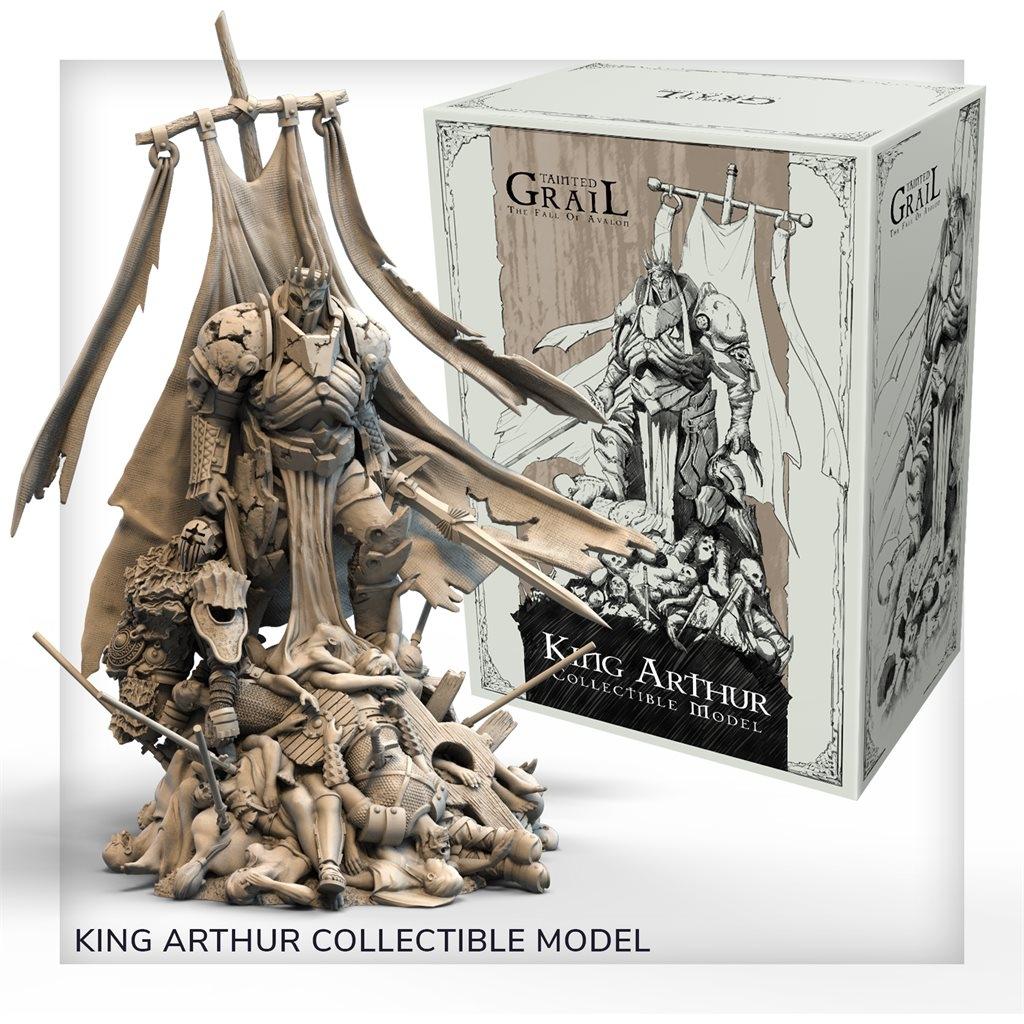 Tainted Grail: The Fall of Avalon King Arthur (Plastic) (edycja polska) (przedsprzedaż)
