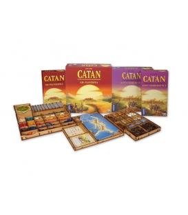 Insert do gry Catan + Kupcy i Barbarzyńcy + 5-6 gracz (dodatki) (e-Raptor)