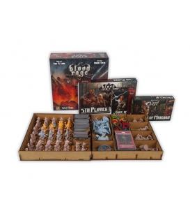 Insert do gry Blood Rage + 5 gracz + Bogowie Asgardu + Mistycy z Midgardu (e-Raptor)
