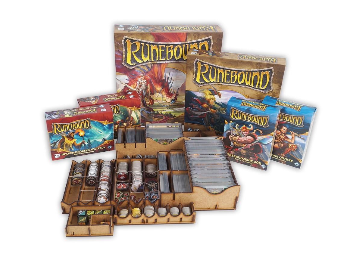 Insert do gry Runebound 3 edycja + dodatki (e-Raptor)