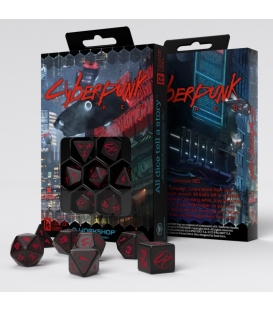 Kości RPG Cyberpunk Red