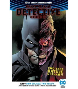 Batman Detective Comics Tom 9 Dwa oblicza Two-Face'a