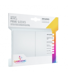 Gamegenic: Prime CCG Sleeves (66x91 mm) - White, 100 sztuk