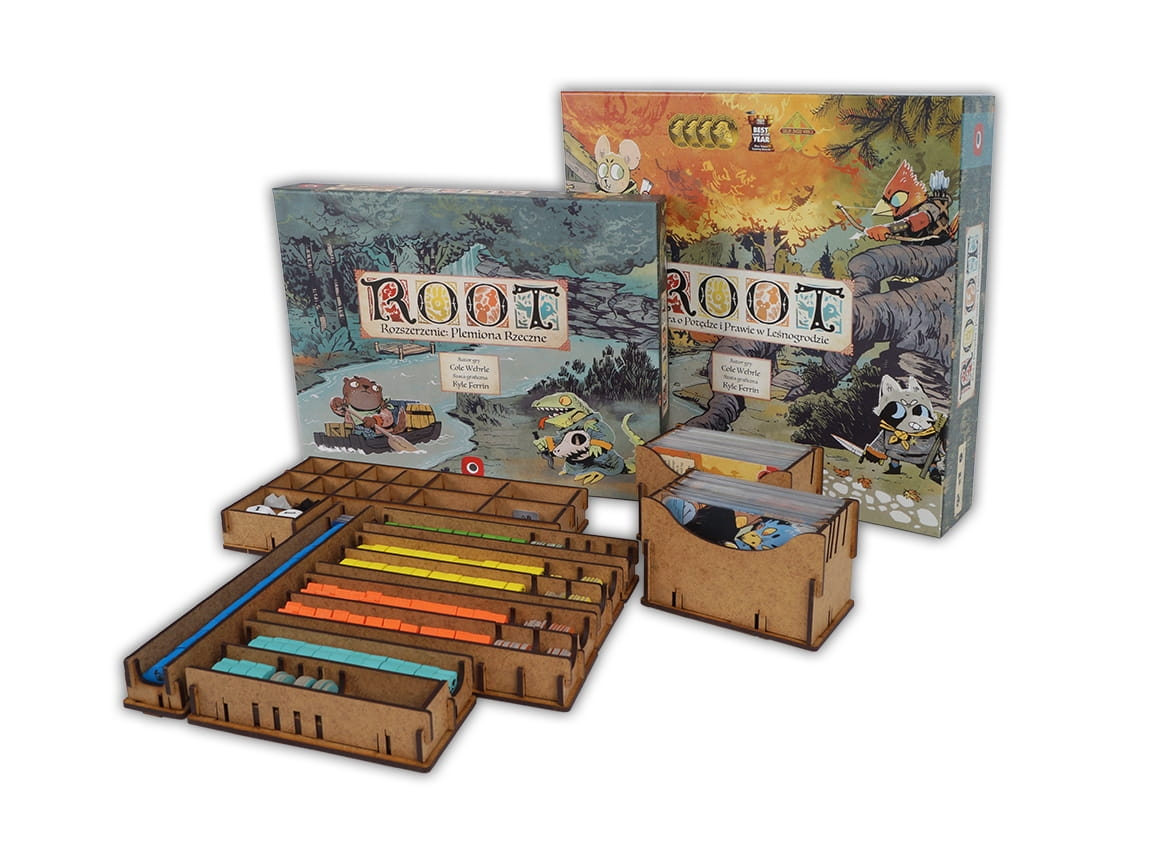 Insert do gry Root + dodatki (e-Raptor)