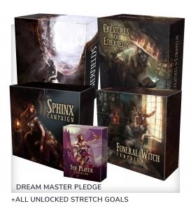 Etherfields - Dream Master (polska edycja Kickstarter) + Thorn Knight