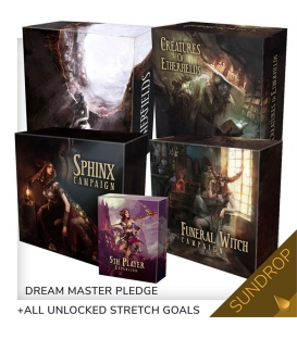 Etherfields - Dream Master (polska edycja Kickstarter) SUNDROP + Thorn Knight