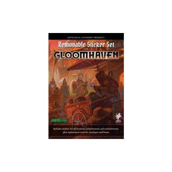 Gloomhaven: zestaw naklejek (edycja polska)