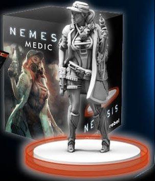 Nemesis: Medic character pack (edycja angielska)