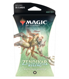 Magic The Gathering: Zendikar Rising - White Theme Booster