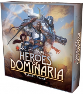 Magic The Gathering: Heroes of Dominaria Board Game (gra używana)