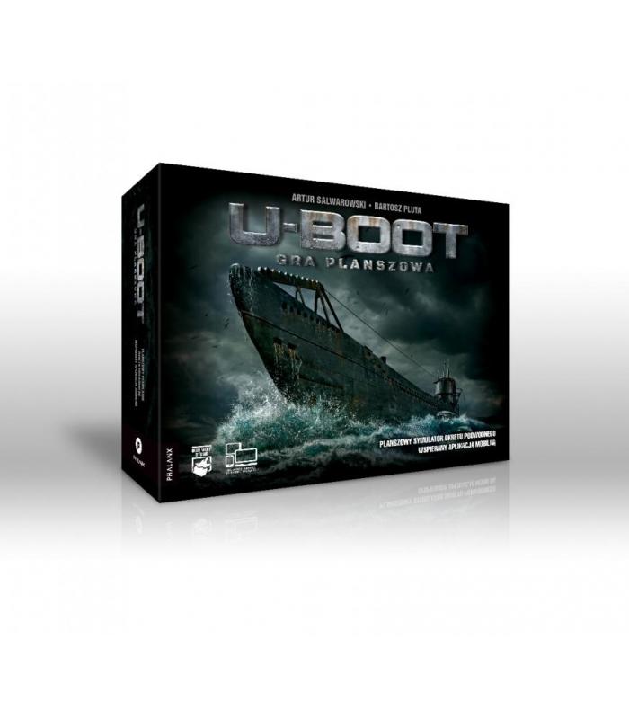 U-boot gra planszowa (gra uszkodzona)