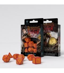 Zestaw RPG Pogromców Smoków Czerwono-Pomarańczowe