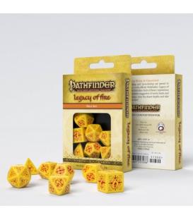 Zestaw Kości RPG Pathfinder Legacy of Fire