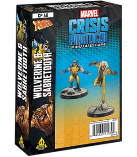 Marvel: Crisis Protocol - Wolverine & Sabretooth