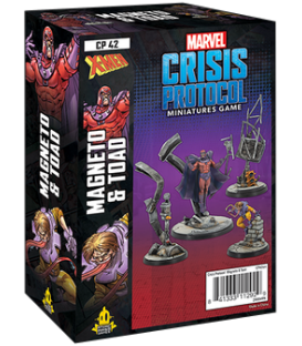 Marvel: Crisis Protocol - Magneto & Toad