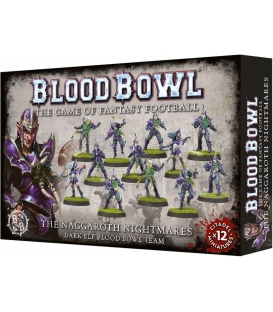 Blood Bowl: The Naggaroth Nightmares - Dark Elf Blood Bowl Team