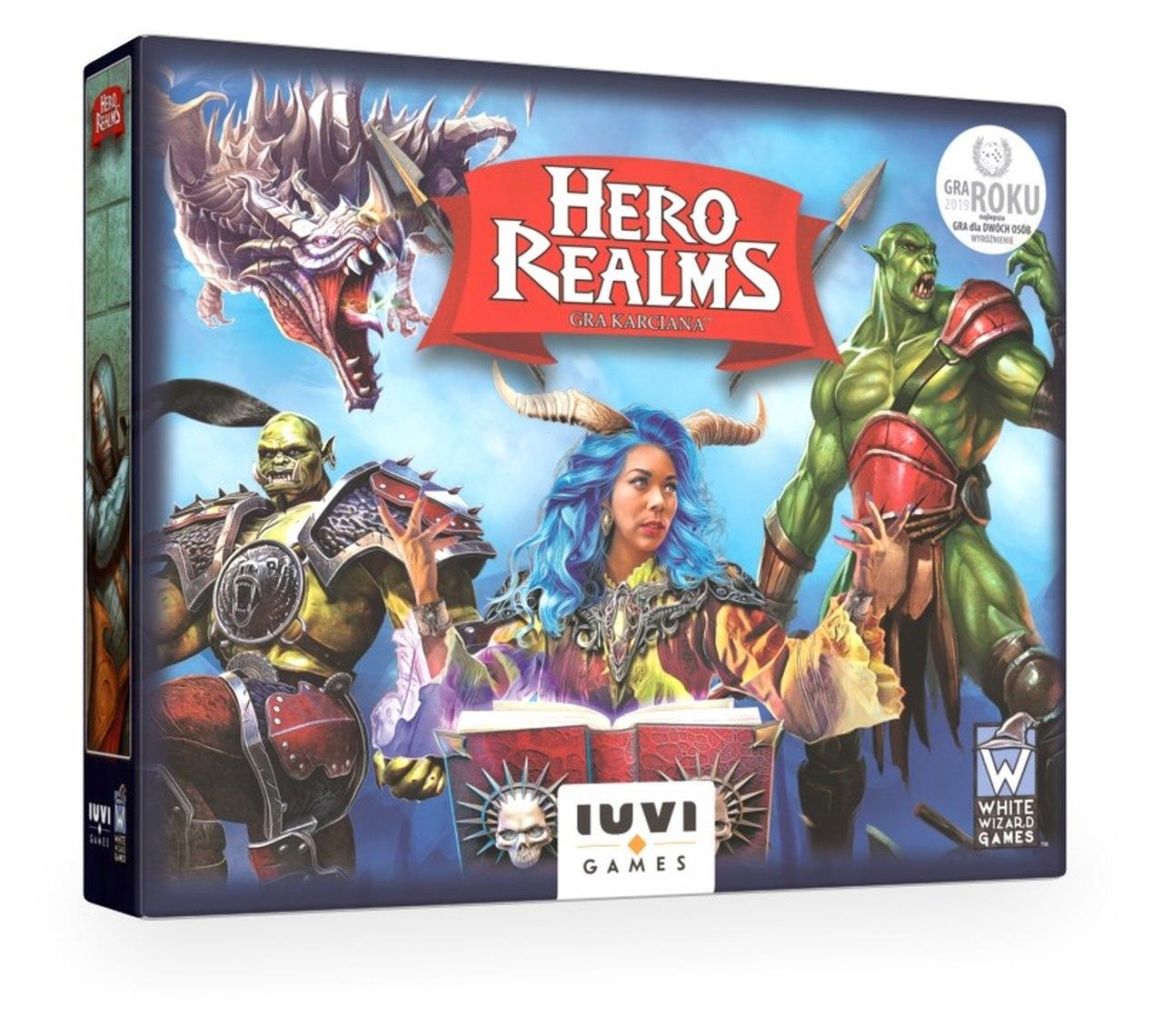 Hero Realms: Gra karciana (nowa edycja) + liczniki życia