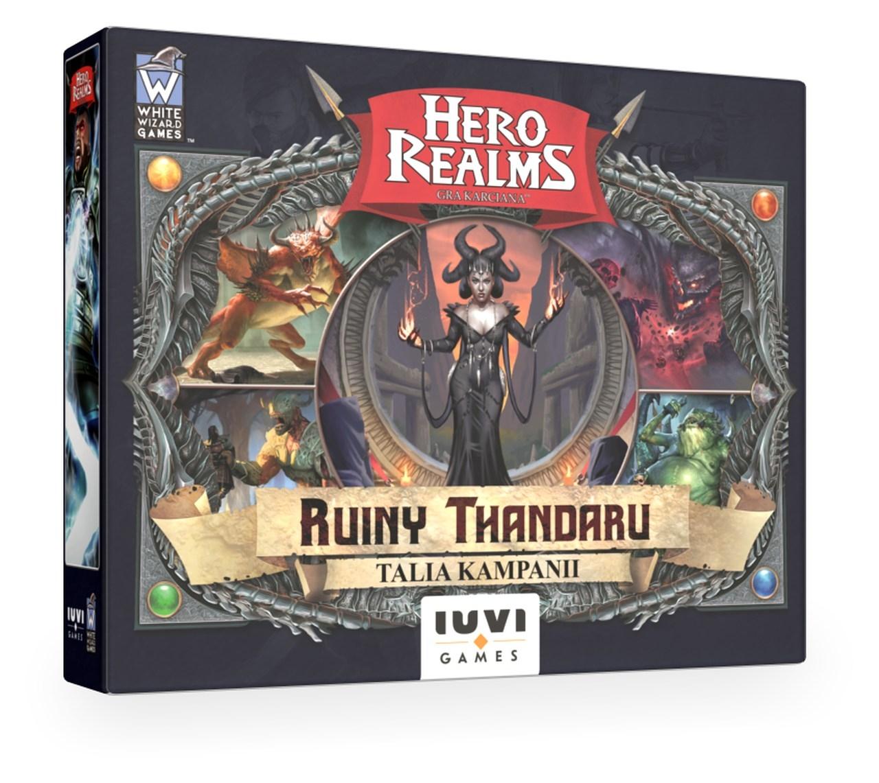 Hero Realms: Ruiny Thandaru + liczniki życia