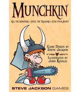 Munchkin - edycja podstawowa (edycja angielska) (Gra używana)