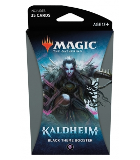 Magic The Gathering: Kaldheim - Black Theme Booster