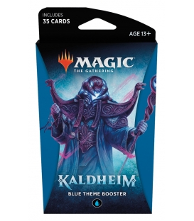 Magic The Gathering: Kaldheim - Blue Theme Booster