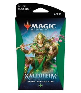 Magic The Gathering: Kaldheim - Green Theme Booster