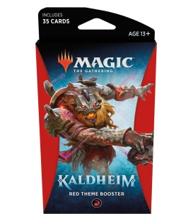 Magic The Gathering: Kaldheim - Red Theme Booster