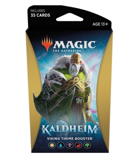 Magic The Gathering: Kaldheim - Viking Theme Booster