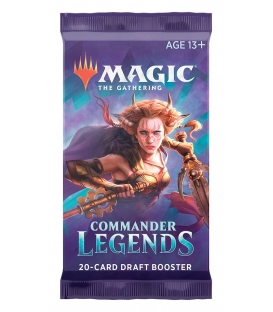 Magic The Gathering: Commander Legends - Booster