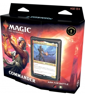 Magic The Gathering: Commander Legends - Commander Deck - Arm for Battle