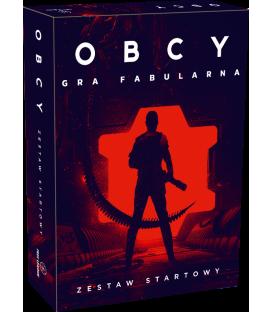 OBCY: Gra fabularna - zestaw startowy + duża mapa + materiały PDF