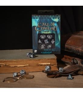 Kości RPG Zew Cthulhu Głębina i biel