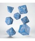 Kości RPG Elfickie Arktyczno-białe (7)