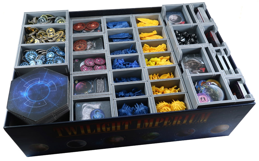Twilight Imperium: Prophecy of Kings Insert (Folded Space)