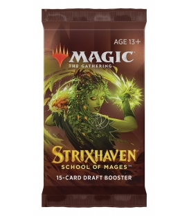 Magic The Gathering: Strixhaven - School of Mages - Draft Booster
