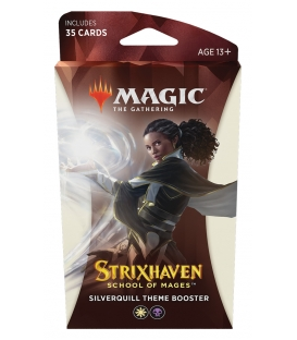 Magic The Gathering: Strixhaven - School of Mages - Theme Booster - Silverquill