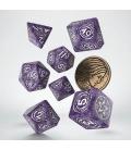 Wiedźmin, zestaw kości RPG. Yennefer - Bez i Agrest
