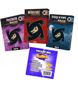 Wilkołaki z Czarnego Lasu - zestaw + koszulki na karty (przedsprzedaż)