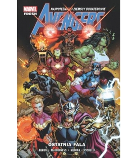 Avengers. Ostatnia fala. Tom 1
