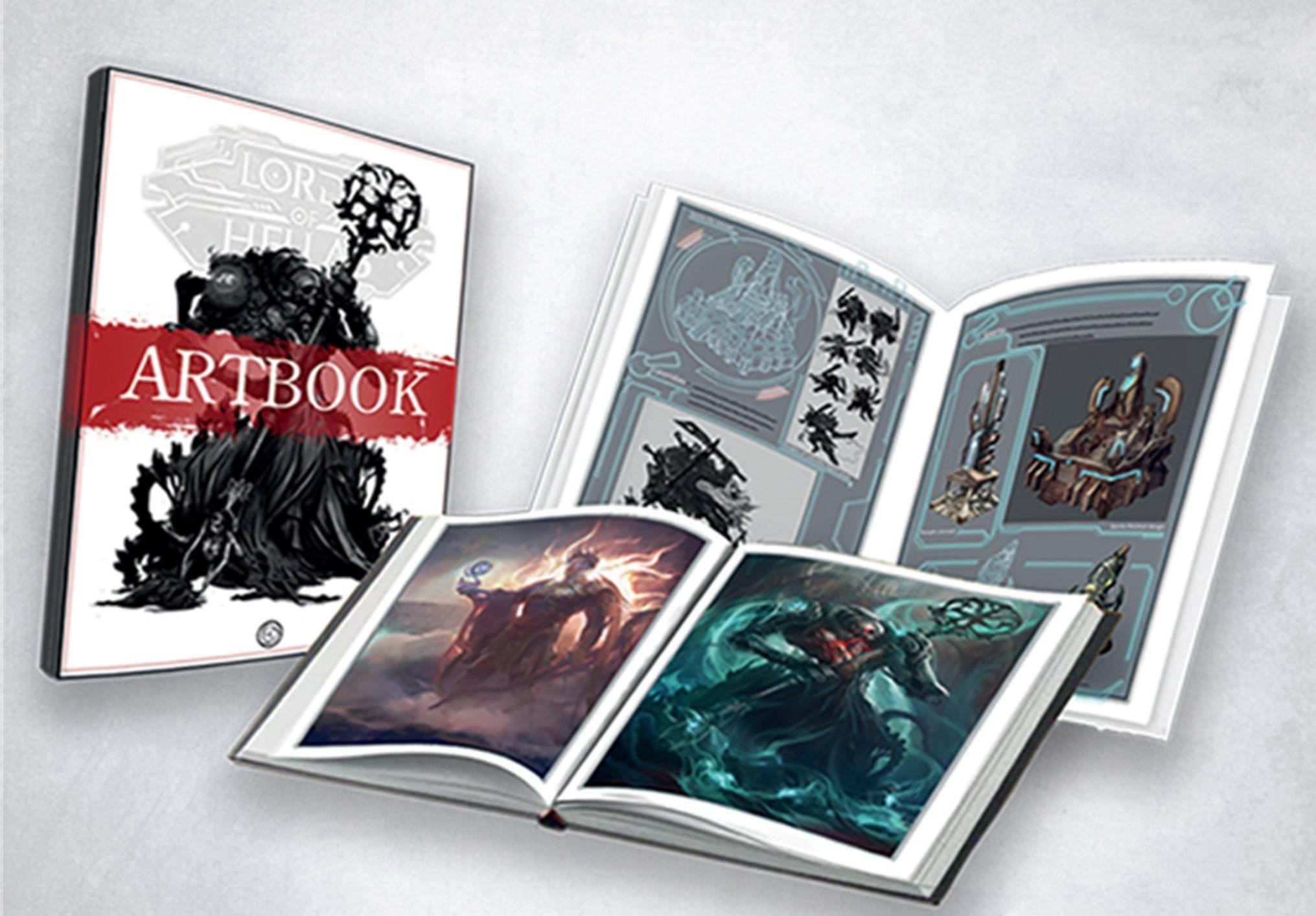 Lords of Hellas: Artbook
