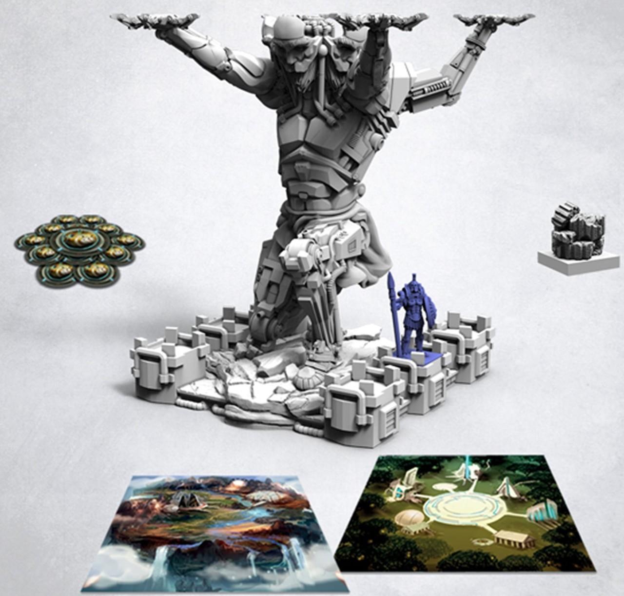 Lords of Hellas: Atlas Expansion Sundrop (edycja polska)
